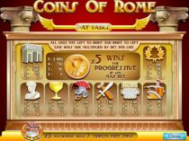 Play Coins Of Rome Casino Slot - -Info