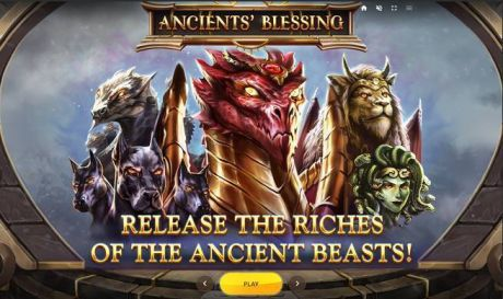 Play Ancients' Blessing - Slot Game -Info