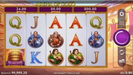 Play Arena of Gold - Slot Game -Slot Reels