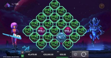 Play Astro Legends: Lyra and Erion - Slot Game -Slot Reels