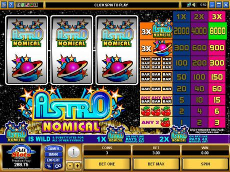 Play Astronomical - Slot Game -Slot Reels
