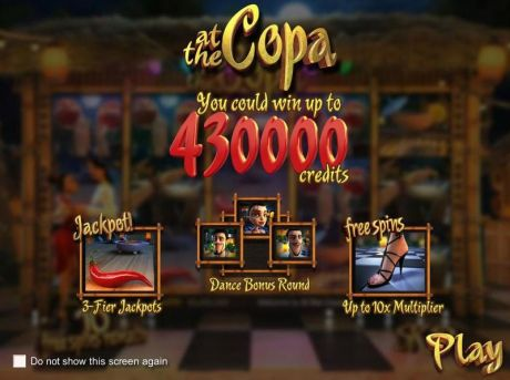 Play At the Copa - Slot Game -Info