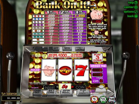 Play Bank on It - Slot Game -Slot Reels