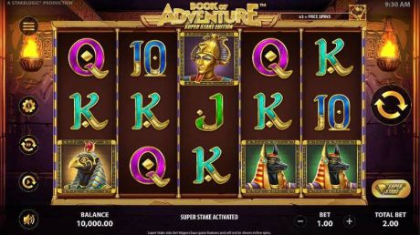 Play Book of Adventure: Super Stake Edition - Slot Game -Slot Reels