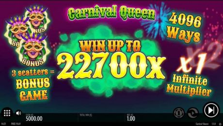Play Carnival Queen - Slot Game -Info