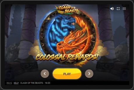 Play Clash of the Beasts - Slot Game -Slot Reels