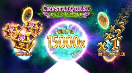 Play Crystal Quest Deep Jungle - Slot Game -Info