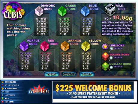 Play Cubis - Slot Game -Info