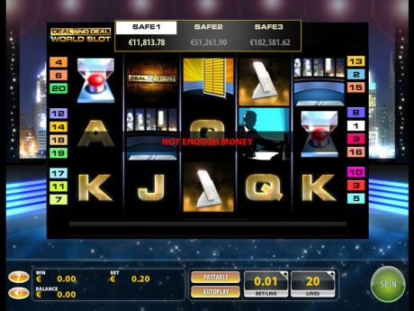 Play Deal or No Deal World - Slot Game -Slot Reels