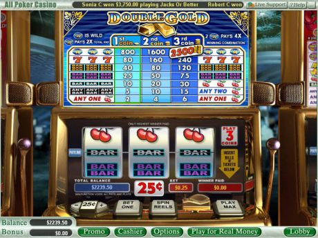 Play Double Gold - Slot Game -Slot Reels