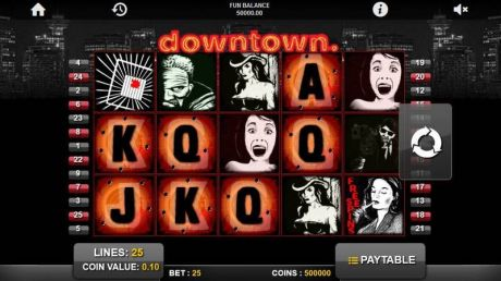 Play Downtown - Slot Game -Slot Reels
