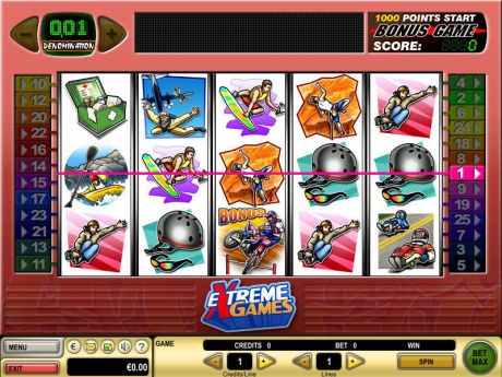 Play Extreme Games - Slot Game -Slot Reels