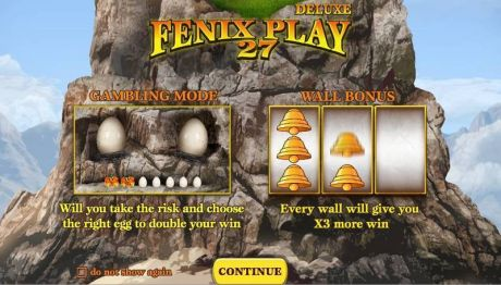 Play Fenix Play 27 Deluxe - Slot Game -Info