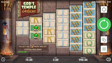 Play God's Temple Deluxe - Slot Game -Slot Reels