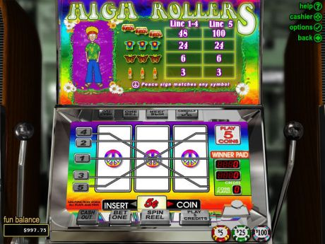 Play High Rollers - Slot Game -Slot Reels