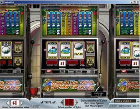 Play Hole in One - Slot Game -Slot Reels