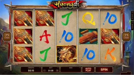 Play Huangdi - The Yellow Emperor - Slot Game -Slot Reels