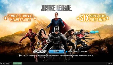 Play Justice League - Slot Game -Info