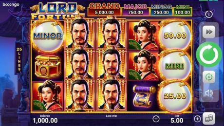 Play Lord Fortune - Slot Game -Slot Reels