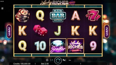 Play Lucky Riches - Slot Game -Slot Reels