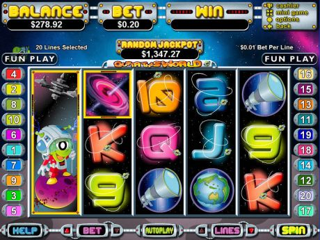 Play Out of This World - Slot Game -Slot Reels
