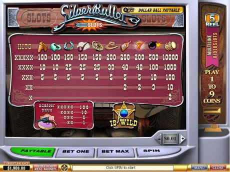 Play Silver Bullet - Slot Game -Info