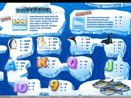 Play Snow Business - Slot Game -Info