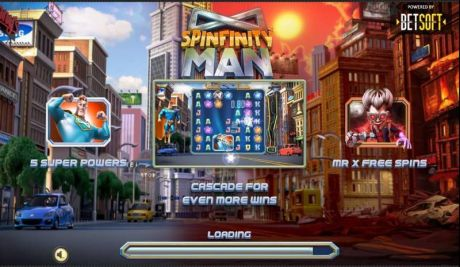 Play Spinfinity Man - Slot Game -Info