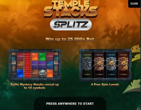 Play Temple Stacks - Slot Game -Info