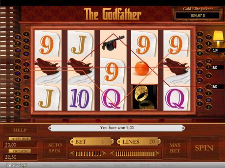 Play The Godfather - Slot Game -Slot Reels
