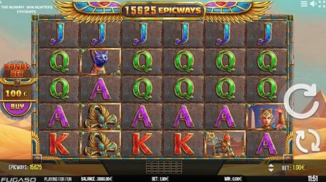 Play The Mummy EPICWAYS - Slot Game -Slot Reels