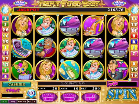 Play Trust Fund Baby - Slot Game -Slot Reels