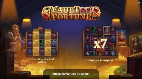 Play Vault of Fortune - Slot Game -Info