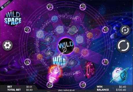 Play Wild Space - Slot Game -Slot Reels